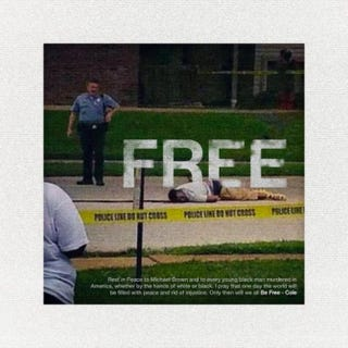 """Cover art for """"Be Free""""J. Cole/Soundcloud"""