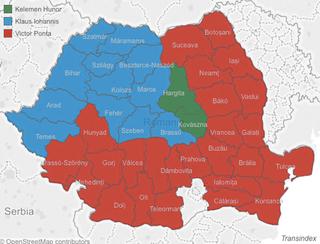 Illustration for article titled A romániai választási térkép sem sokkal kevésbé durva, mint az ukrán