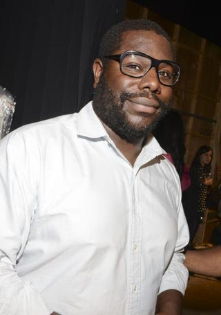 Director Steve McQueen backstage at the Tracy Reese fashion show during the Mercedes-Benz Fashion Week Spring 2015 at Art Beam on Sept. 7, 2014, in New York City. Vivien Killilea/Getty Images