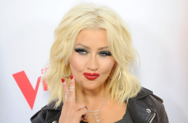 Illustration for article titled Christina Aguilera 'Felt Like It Was Time' to Post a Topless Selfie