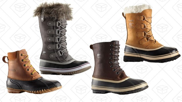 Sorel Is Giving You 25% Off and Free Shipping With Their Pre-Black Friday Sale
