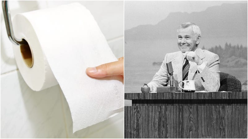 Illustration for article titled Get Involved, Internet: Support this film about Johnny Carson causing a toilet-paper shortage