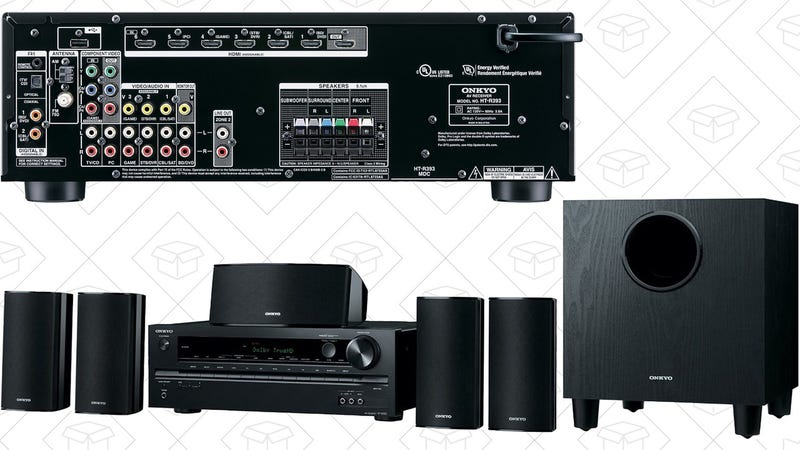 Onkyo HT-S3700 5.1 Channel Home Theater Package, $300