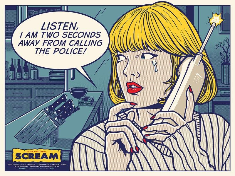 Scream by Gary Pullin