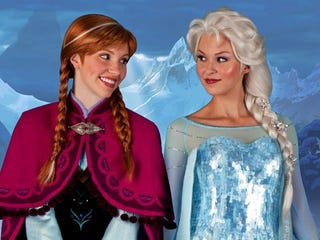 Illustration for article titled Disney is prepping a Frozen live-action musical!