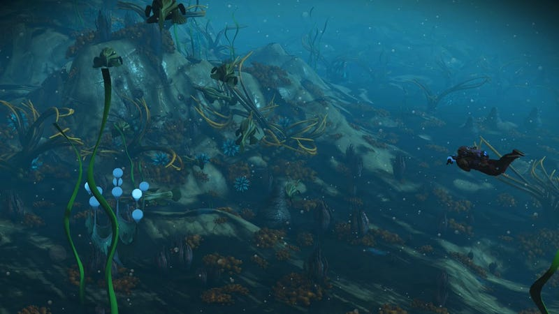 Illustration for article titled No Man's Sky Underwater Update Opens Up New Worlds