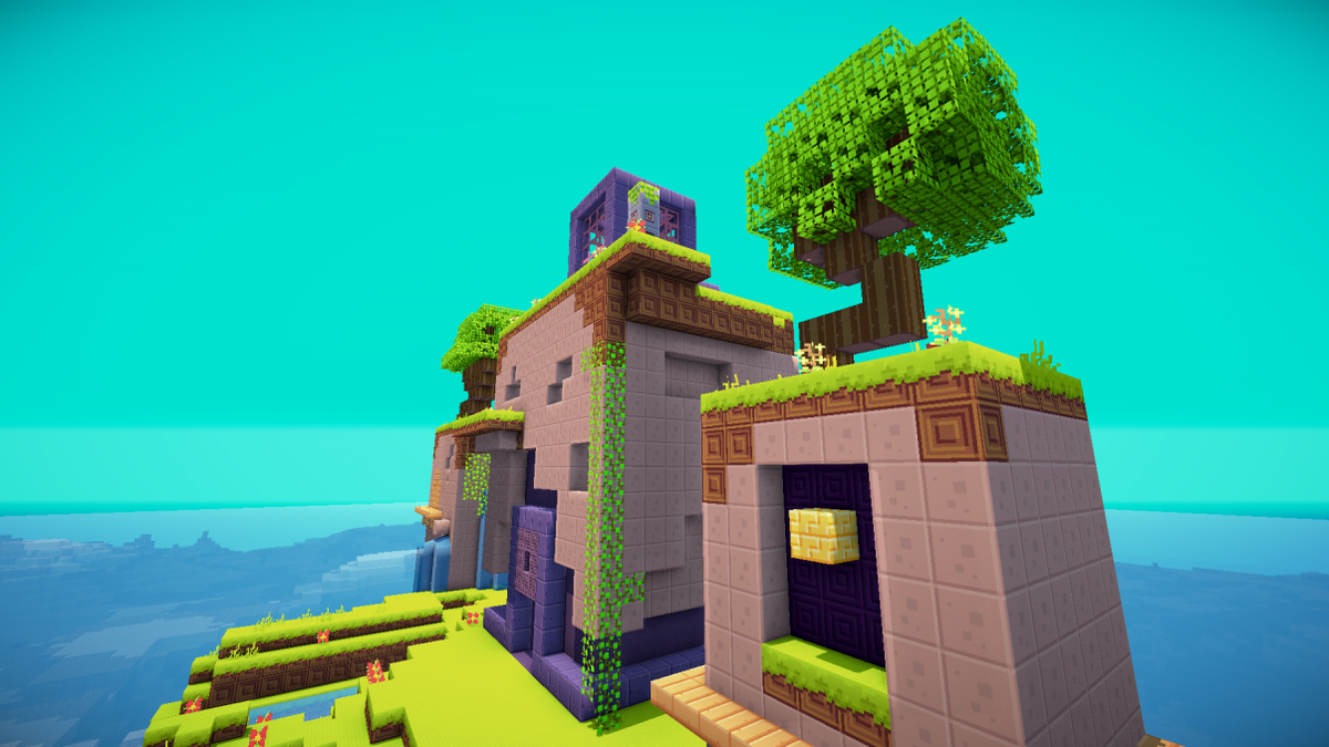 Fez S Village In Minecraft Is An Amazing Thing