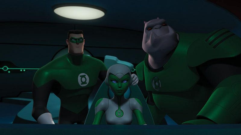 Illustration for article titled Green Lantern: The Animated Series Pictures