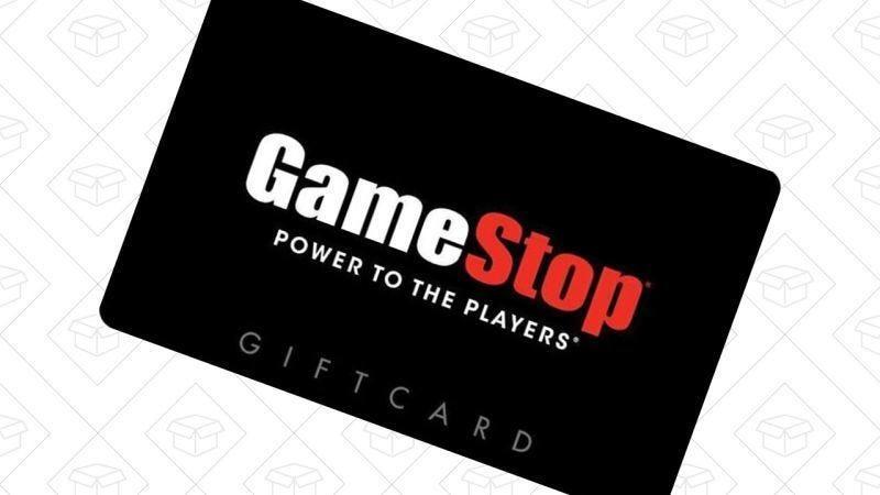 Tarjeta regalo de GameStop de $100, $85