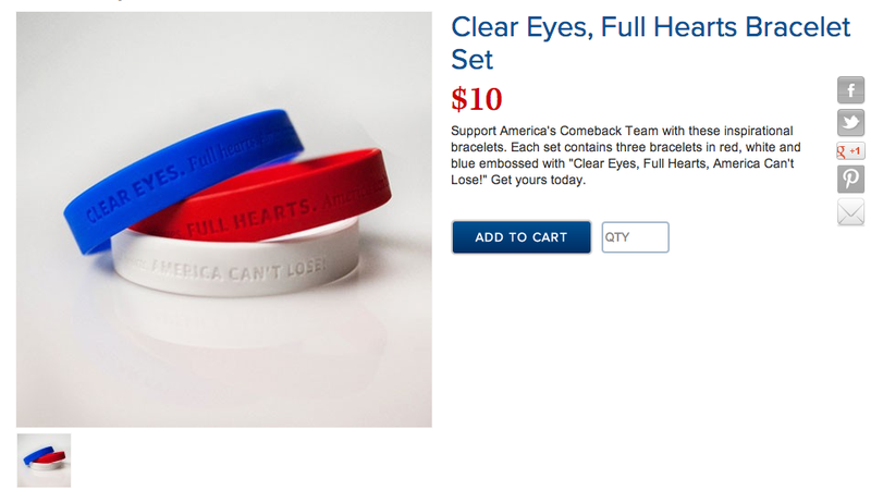 Illustration for article titled Clear Eyes, Zero Class: Mitt Romney's Now Selling Plagiarized Friday Night Lights Crap