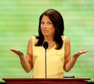Illustration for article titled Minnesota's Michelle Bachmann Doesn't Think All Liberals Are Un-American