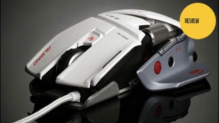 Illustration for article titled The Cyborg R.A.T. 7 Albino Looks More Like a Mass Effect Battleship Than a Gaming Mouse