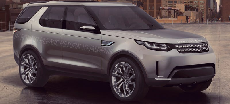 Illustration for article titled Land Rover Discovery Concept Can Be Driven By Remote Control