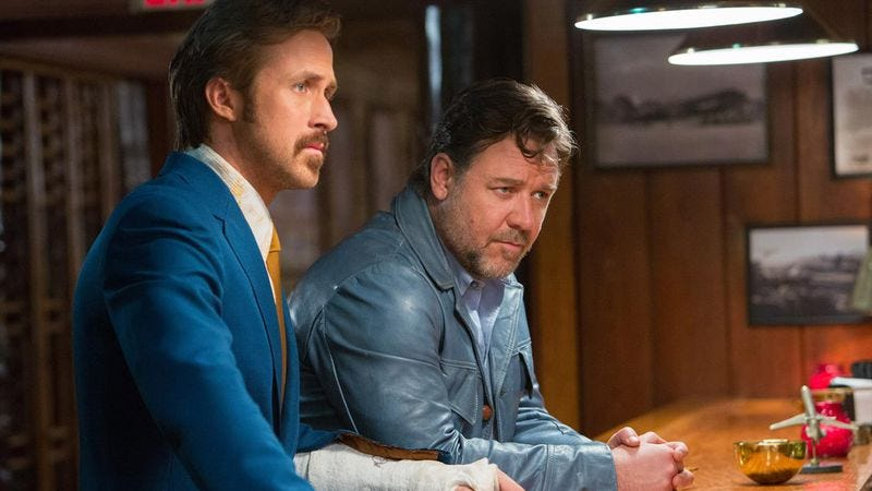 Illustration for article titled Chicago, see Ryan Gosling and Russell Crowe in The Nice Guys early and for free