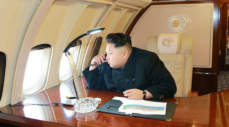 Illustration for article titled Así es por dentro el remodelado avión de la era soviética de Kim Jong-un
