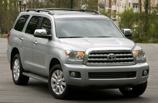 Illustration for article titled 2008 Toyota Sequoia Price Increases to $34,150
