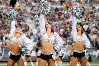 Illustration for article titled Here's Every Finable Offense For Raiders Cheerleaders