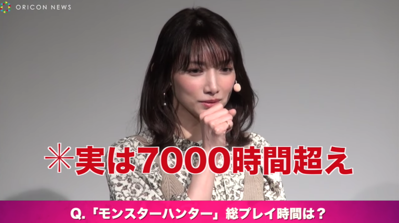 Illustration for article titled Japanese Pop Star Says She's Already Played Monster Hunter: World For 400 to 500 Hours