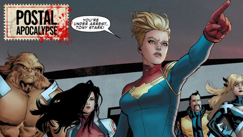 captain marvel civil war