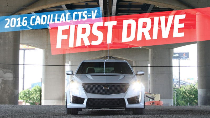 Illustration for article titled 2016 Cadillac CTS-V: A Glorious 640 HP Exercise In Overkill