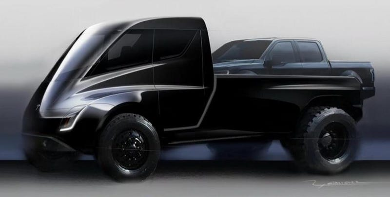 Illustration for article titled Elon Musk detalla algunas de las características que tendrá la camioneta pick-up de Tesla