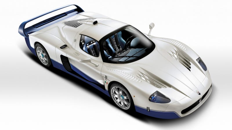 Illustration for article titled Hey Guess What It's The Maserati MC12