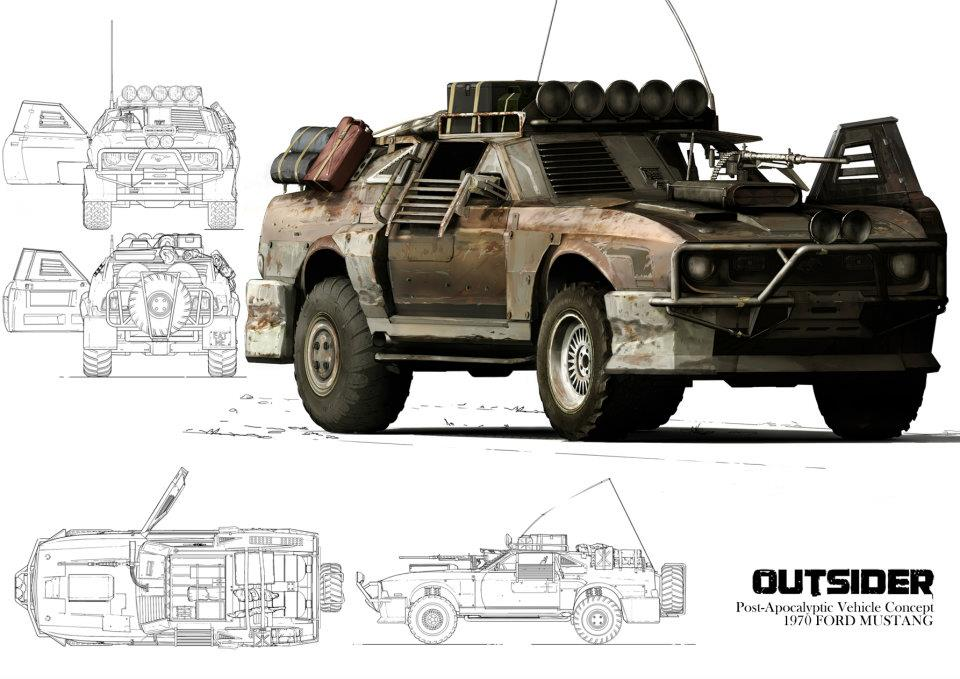 post apocalyptic cars builder s group no roo is safe rh oppositelock kinja com post apocalyptic car model post apocalyptic car model