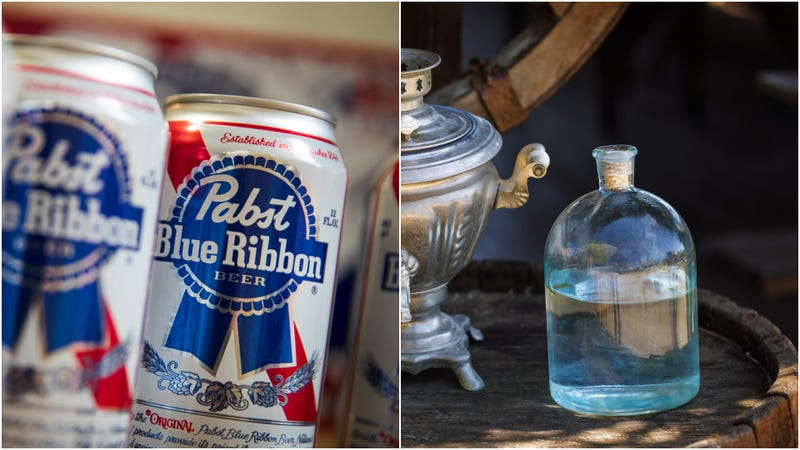 "PBR to launch its own whiskey that's ""aged 5 seconds"" [UPDATED]"
