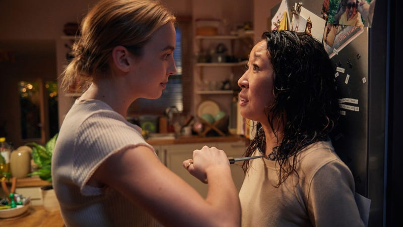 Jodie Comer and Sandra Oh star in Killing Eve