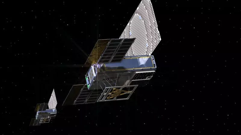 Artist's conception of Mars Cube One (MarCO)