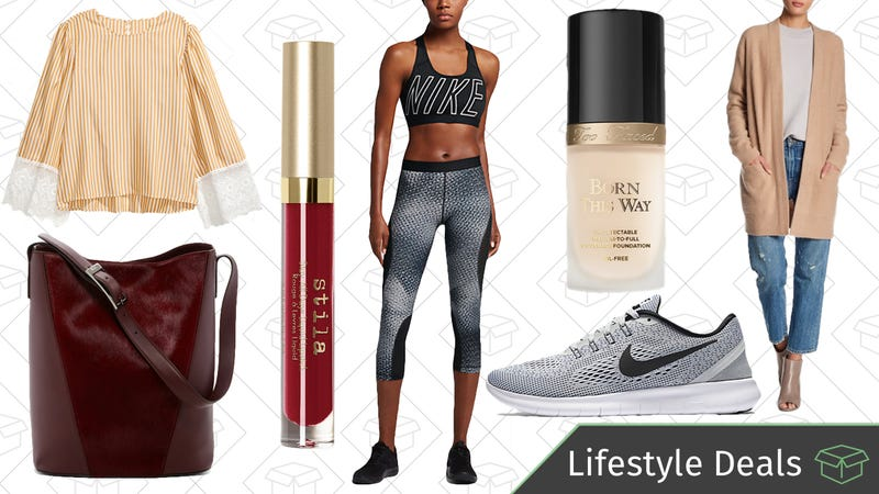 Illustration for article titled Today's Best Lifestyle Deals: Nike, Too Faced, H&M, Stila, and More