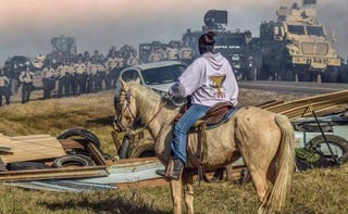 Veterans Stand for Standing Rock Facebook cover photoFacebook screenshot