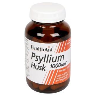 Psyllium Husk 1000mg 60's Vegicaps