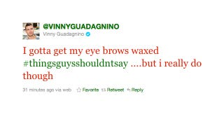 Illustration for article titled It's Time For Vinny Guadagnino To Get His Eyebrows Waxed