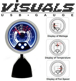 Illustration for article titled Visuals USB Gauge Blurs Automobile and PC Energies