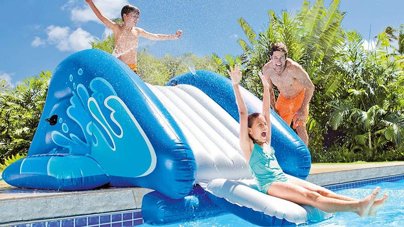 Intex Inflatable Waterslide   $60   Amazon