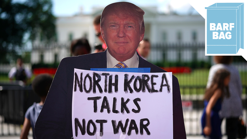 Atkins: Donald Trump ups the ante in North Korea war of words