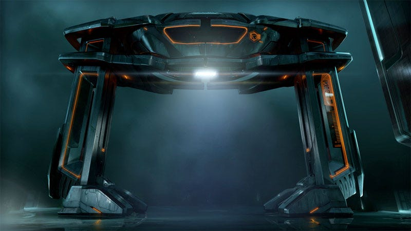 Illustration for article titled Immerse Yourself In Tron Legacy Concept Art