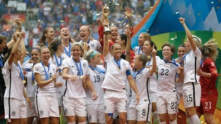 Illustration for article titled NYC Will Hold Ticker-Tape Parade for the US Women's Soccer Team