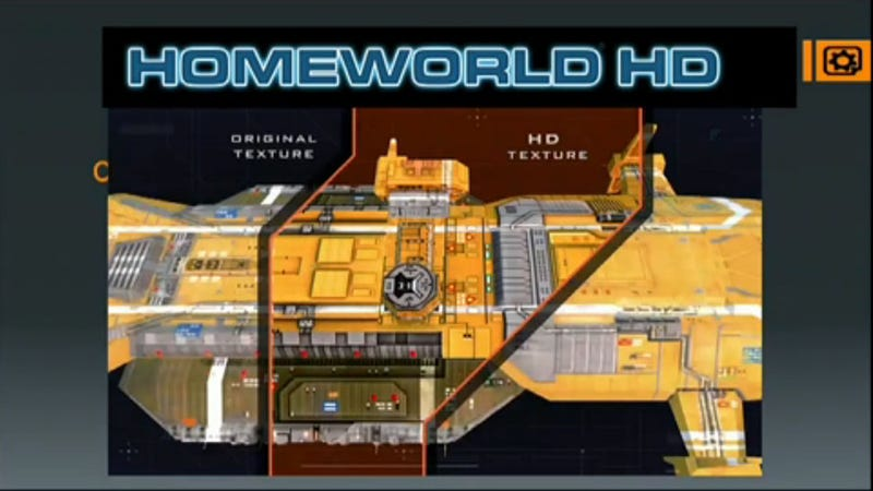 "Illustration for article titled Let's See How ""HD"" The Homeworld Remakes Really Are"
