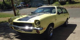 Illustration for article titled For $5,900, This 1973 Chevy Vega GT Says Wagons Ho!