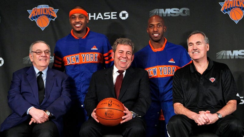 Illustration for article titled Donnie Walsh Out As Knicks Prez, Fans Begin Zeke Freakout