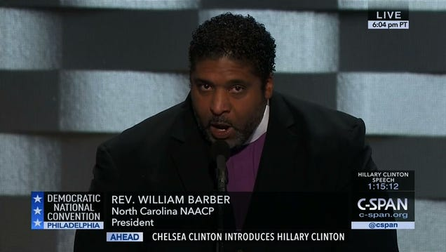 """Preacher's Powerful DNC Speech: """"We Must Shock This Nation With the Power of Love"""""""
