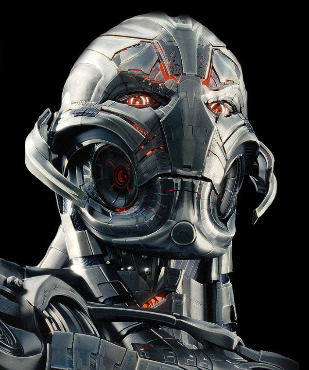 All the faces of Ultron: The design evolution of the ...