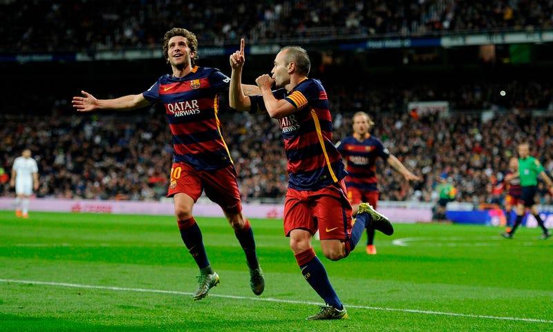 Illustration for article titled Sergi Roberto's Stunning Emergence Proves Barcelona Are Firing On AllCylinders