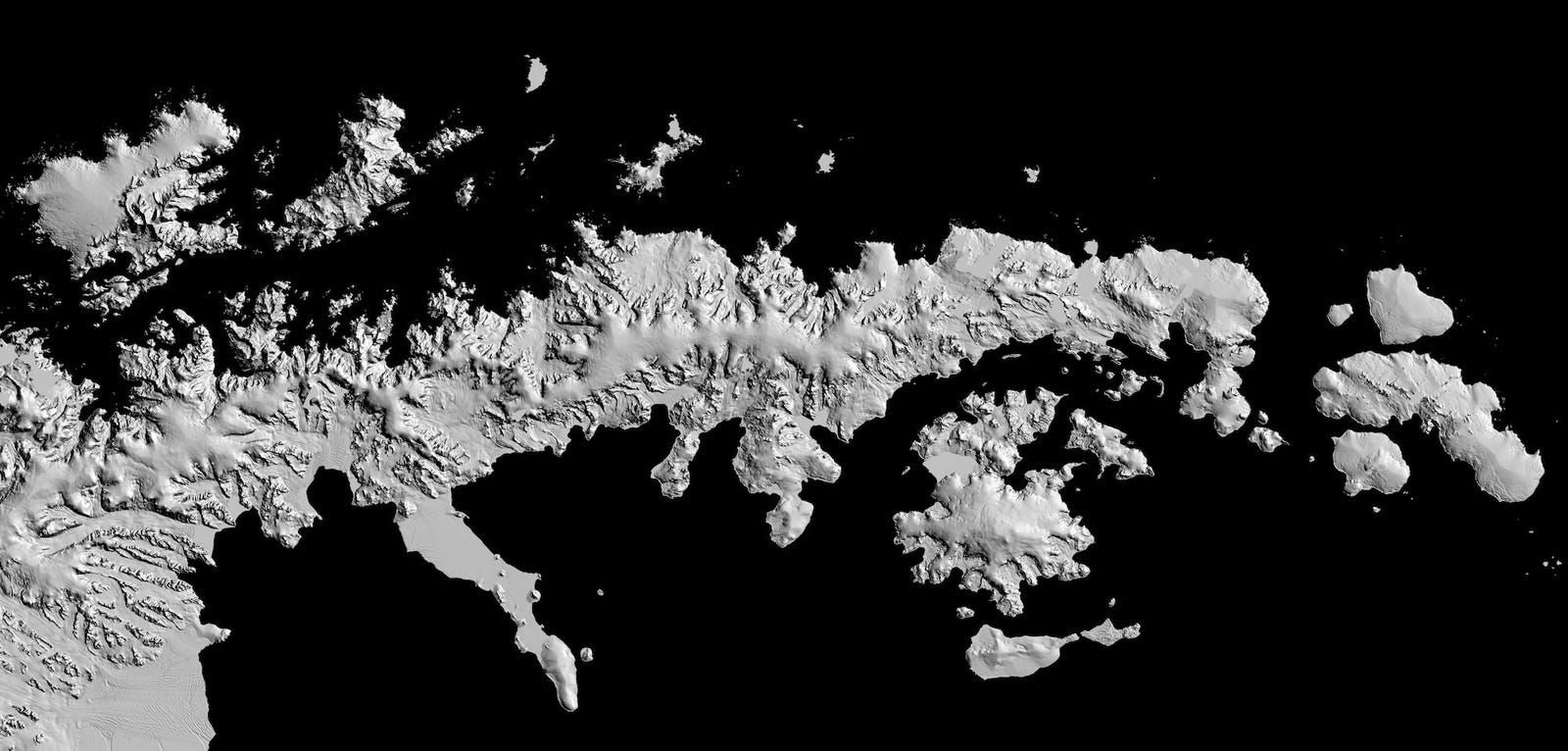 New Super-High-Resolution Map Shows Antarctica In Unprecedented Detail