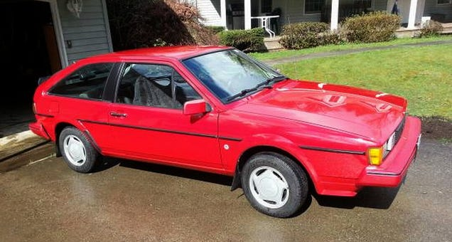 for 6 900 this 1985 vw scirocco might be all that. Black Bedroom Furniture Sets. Home Design Ideas