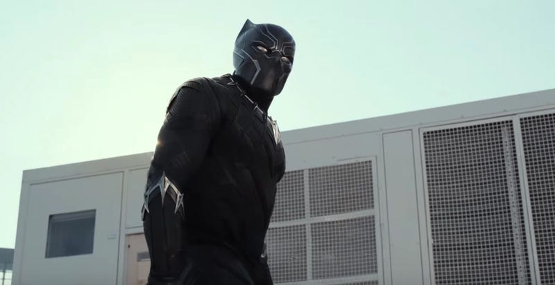 Illustration for article titled Here's Our Best Look Yet At Black Panther In Captain America: Civil War