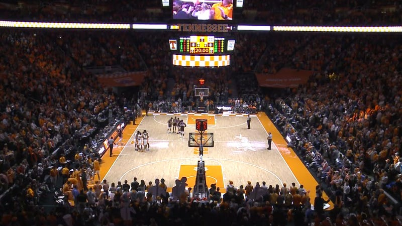 Illustration for article titled Students Protest At Tennessee Basketball Game After School's Weak Response To Blackface Photo
