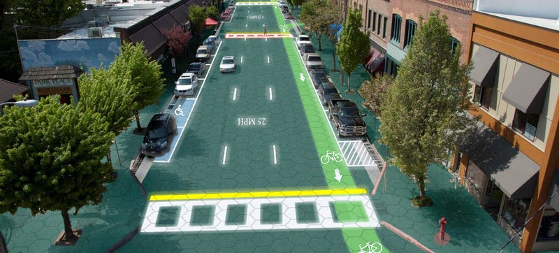 Illustration for article titled A Whopping $1.38 Million Crowdfunded For Solar Roads